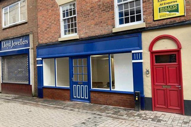 Thumbnail Retail premises to let in Crown Street, Wellington, Telford