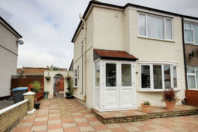 Thumbnail End terrace house for sale in Albany Park Avenue, Enfield