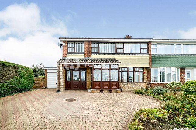 Semi-detached house for sale in Oakfield Road, Whickham, Newcastle Upon Tyne, Tyne And Wear