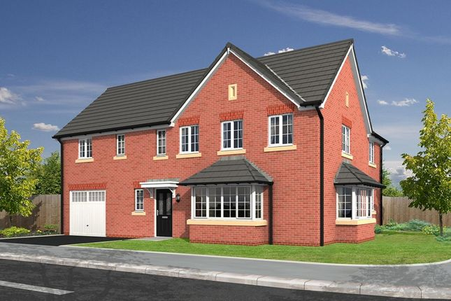 Thumbnail Detached house for sale in Chadwick Gardens Garstang Road, Little Eccleston, Preston