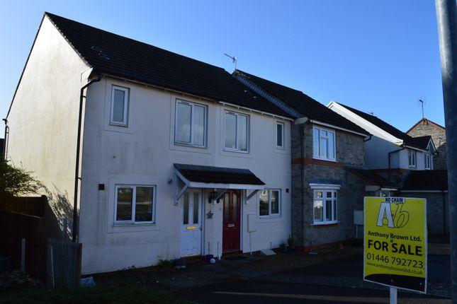 Thumbnail End terrace house for sale in Clos Ogney, Llantwit Major