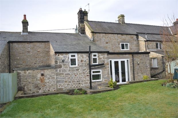 Thumbnail Terraced house for sale in Tenter Close, Main Street, West Woodburn, Northumberland.