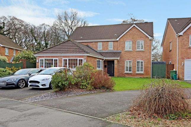 Thumbnail Detached house for sale in Woodland View, Church Village, Pontypridd