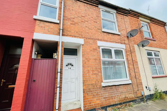 Thumbnail 3 bed terraced house to rent in Channing Street, Kettering