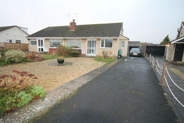 Thumbnail Semi-detached bungalow for sale in Medway Drive, Frampton Cotterell, Bristol