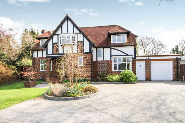 Thumbnail Detached house for sale in Longdown Lane North, Epsom
