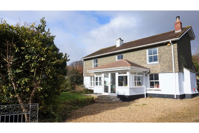 Thumbnail Detached house for sale in Rising Sun, Callington
