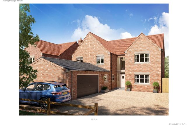 Thumbnail Detached house for sale in Fridaybridge Road, Elm, Wisbech