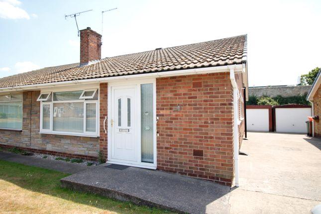 Thumbnail Semi-detached bungalow to rent in Belvoir Drive, Knottingley