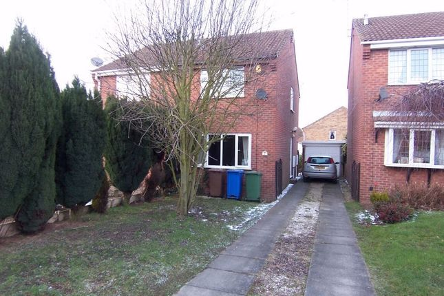 Thumbnail Semi-detached house to rent in Breckbank, Forest Town, Mansfield