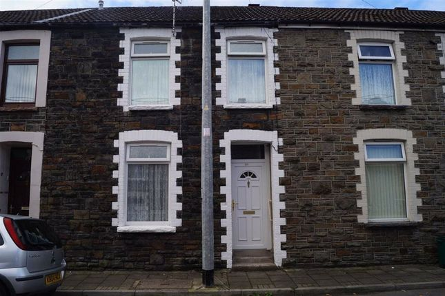 Thumbnail Terraced house for sale in Church Street, Penrhiwceiber, Mountain Ash