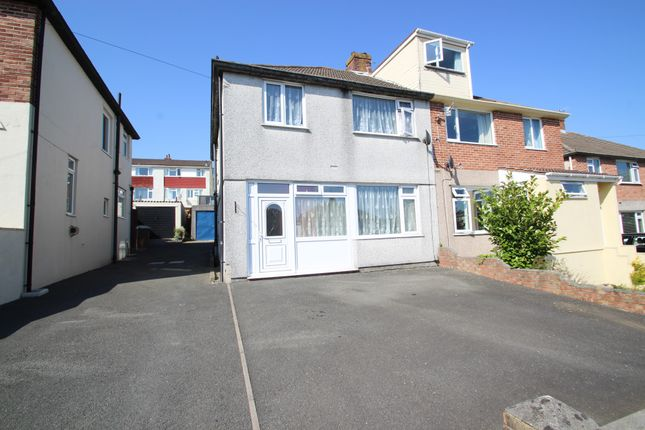 Thumbnail Semi-detached house for sale in Crossway, Plympton, Plymouth