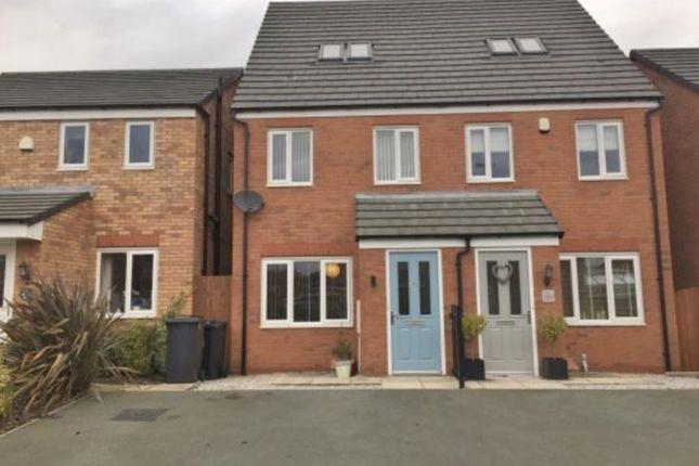 Thumbnail Town house to rent in Greylag Gate, Newcastle-Under-Lyme