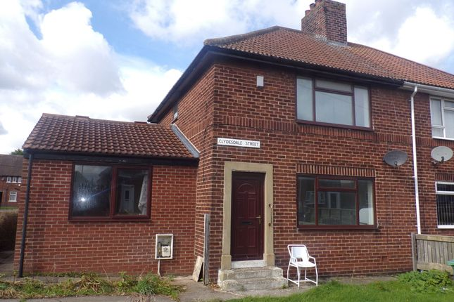 Thumbnail Semi-detached house to rent in Clydesdale Street, Hetton-Le-Hole, Houghton Le Spring