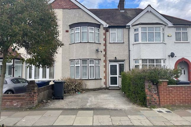 3 bed terraced house for sale in Cornwall Avenue, Southall, Middlesex UB1