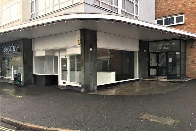 Thumbnail Retail premises to let in Queensway, Bognor Regis