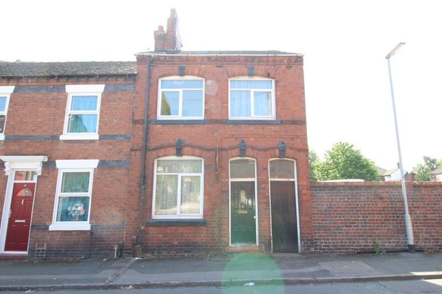 Thumbnail Terraced house for sale in Warwick Street, Chesterton, Newcastle