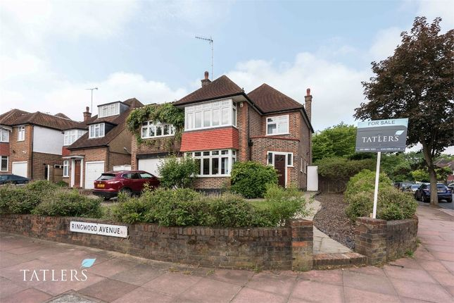 Thumbnail Detached house for sale in Ringwood Avenue, East Finchley, London
