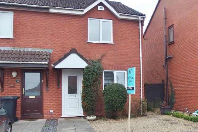 Thumbnail End terrace house to rent in Oak Meadow, Lydney, Gloucestershire