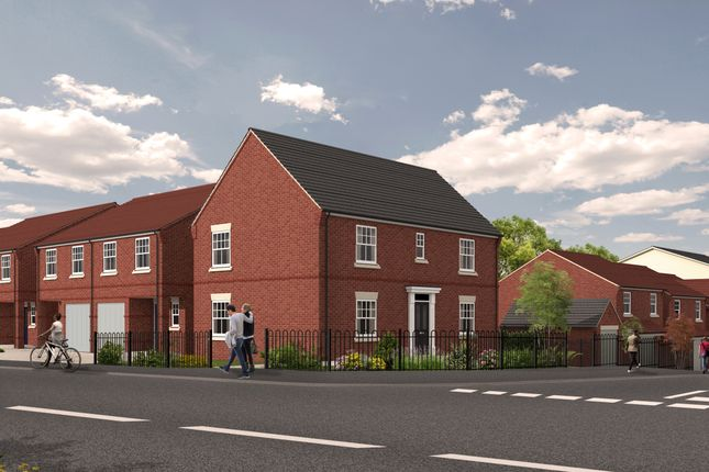 Thumbnail Detached house for sale in Plot 3, 1D Eastbank Drive, Northwick, Worcester