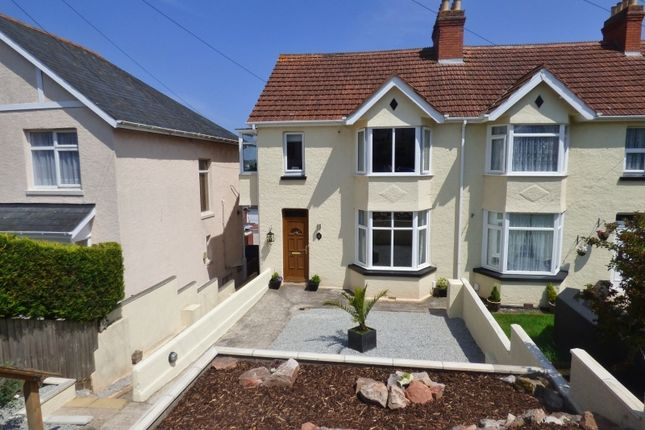 Thumbnail Semi-detached house for sale in Boundary Road, Torquay