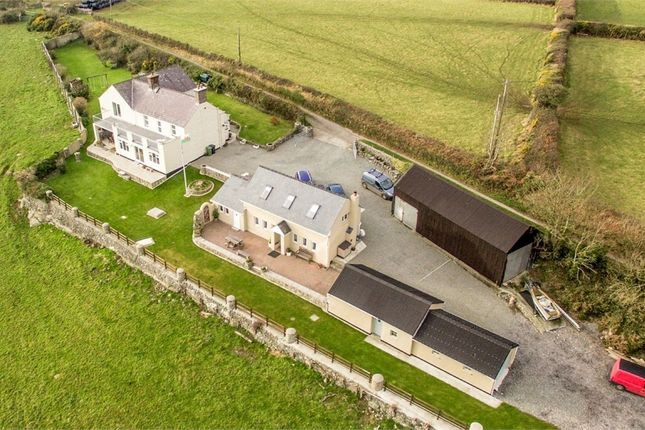 Thumbnail Detached house for sale in Trefdraeth, Bodorgan, Anglesey