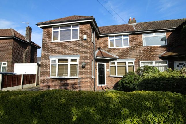 Thumbnail Semi-detached house for sale in Roundwood Road, Northenden, Manchester