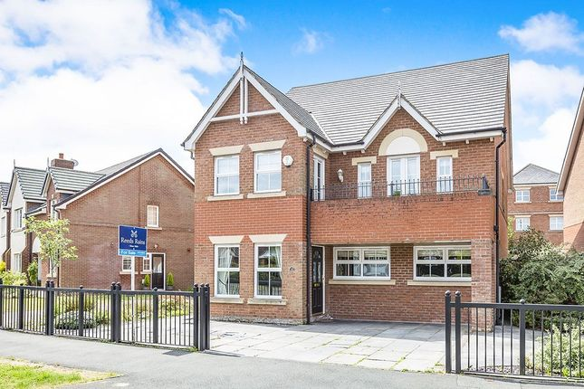 Thumbnail Detached house for sale in Carrwood Way, Walton-Le-Dale, Preston