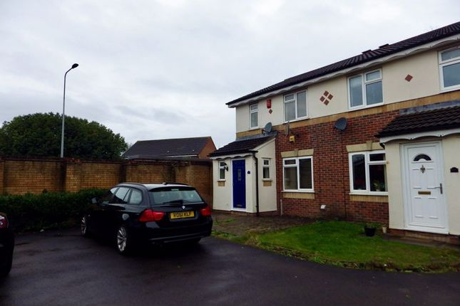 3 bed semi-detached house to rent in Linden Drive, Bradley Stoke, Bristol BS32