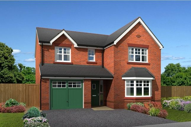 "Thumbnail Detached house for sale in ""Brampton"" at Main Road, New Brighton, Mold"