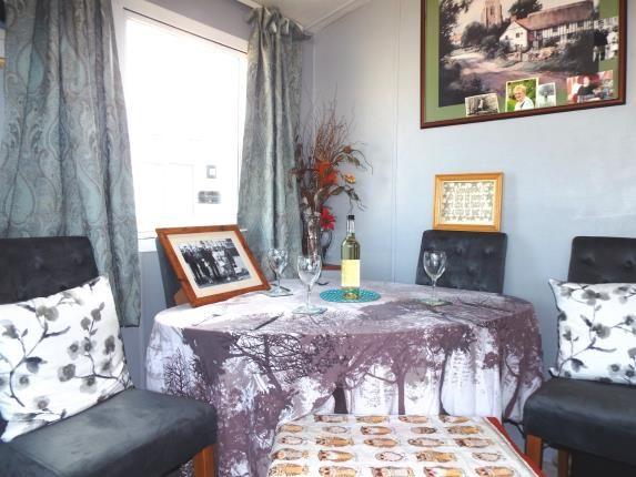 Living Room of Wayside Caravan Park, Way Hill, Minster, Kent CT12