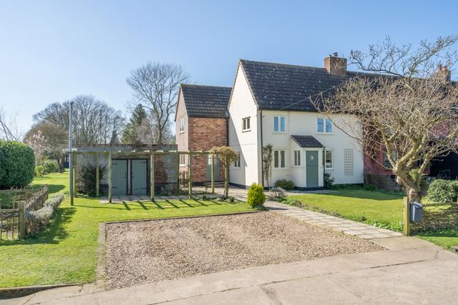 Thumbnail Semi-detached house for sale in Ilketshall St. Andrew, Beccles