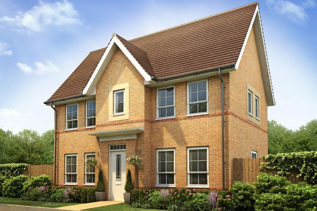"Thumbnail Semi-detached house for sale in ""Morpeth"" at Lantern Lane, East Leake, Loughborough"