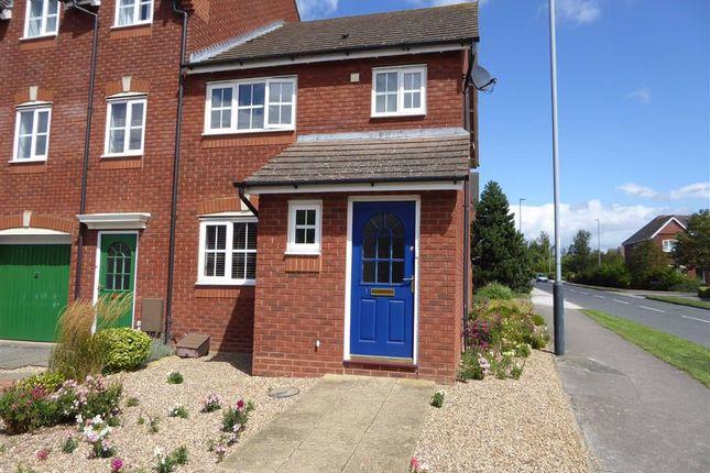 Thumbnail End terrace house to rent in Falstaff Grove, Heathcote, Warwick