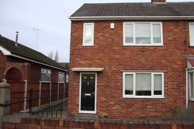 Thumbnail Semi-detached house to rent in Grassthorpe Road, Gleadless, Sheffield