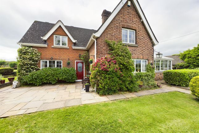 Thumbnail Detached house for sale in Borras Hall Lane, Llan-Y-Pwll, Wrexham