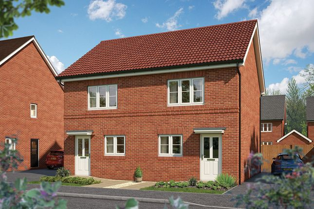 "Thumbnail Terraced house for sale in ""The Hawthorn"" at Hadham Road, Bishop's Stortford"