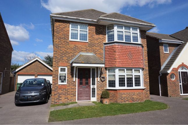 Thumbnail Detached house for sale in Hazel Grove, Bexhill-On-Sea