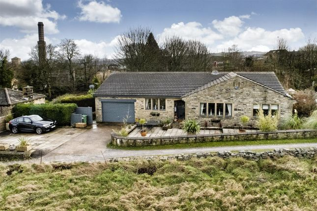 Thumbnail Detached bungalow for sale in Royles Head Lane, Longwood, Huddersfield