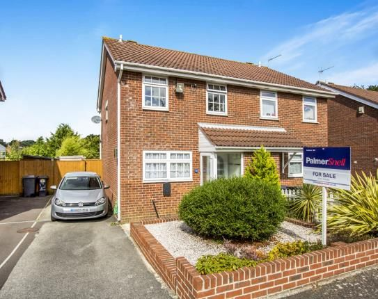 Thumbnail Semi-detached house for sale in Norcliffe Close, Bournemouth