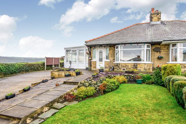 Thumbnail Semi-detached bungalow for sale in Moorlands Drive, Halifax