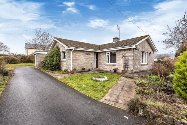 Thumbnail Detached bungalow for sale in Hay On Wye 8 Miles, Brecon 8 Miles