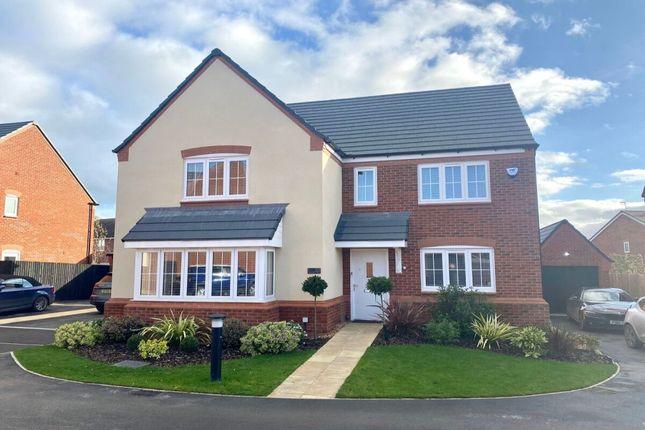 Thumbnail Detached house for sale in Weaver Brook Way, Wrenbury, Nantwich