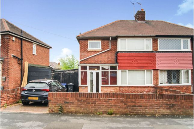 Thumbnail Semi-detached house for sale in Bruce Crescent, Doncaster