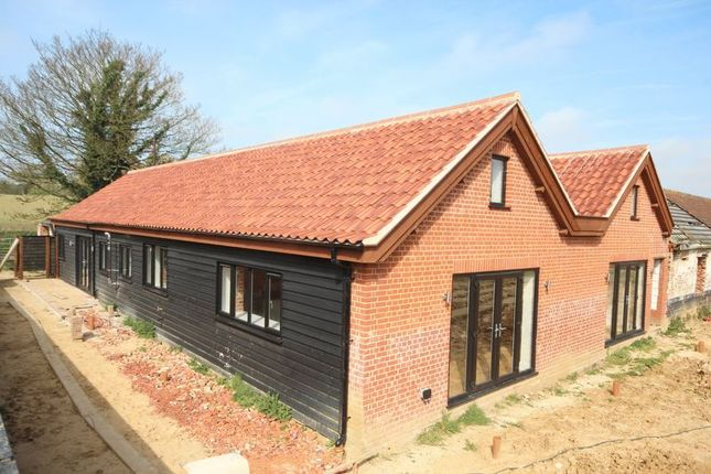 Thumbnail Barn conversion for sale in Church Lane, Claxton, Norfolk