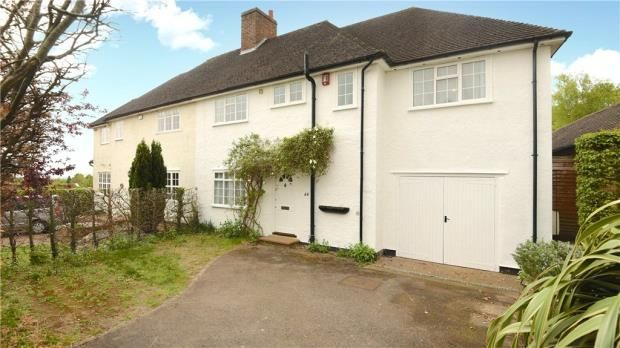 Thumbnail Semi-detached house for sale in Litchfield Way, Guildford, Surrey