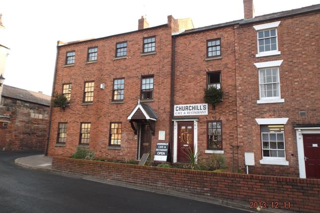 Thumbnail Flat to rent in Meadow Place, Shrewsbury