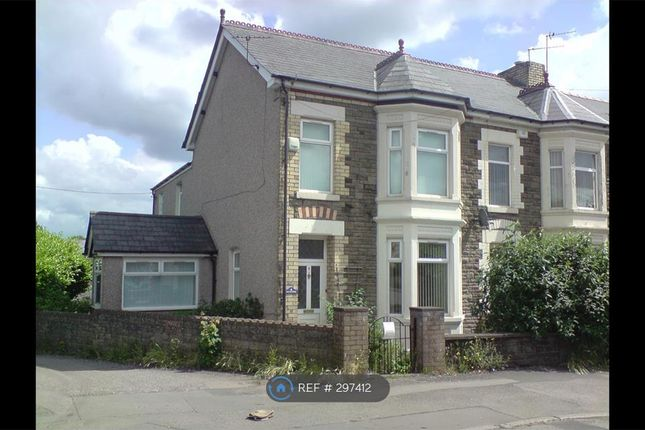 Thumbnail Flat to rent in Station Road, Cwmbran