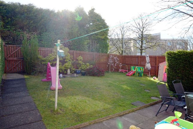 Rear Gardens of Loch Long, St. Leonards, East Kilbride G74