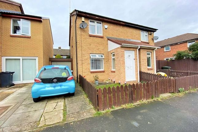 Thumbnail 3 bed property for sale in Telford Court, Wallsend
